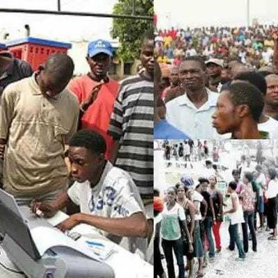 GOOD NEWS AS FG BEGINS REGISTRATION OF UNEMPLOYED NIGERIANS !!!