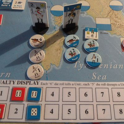 The Napoleonic Wars, suite du tour 1
