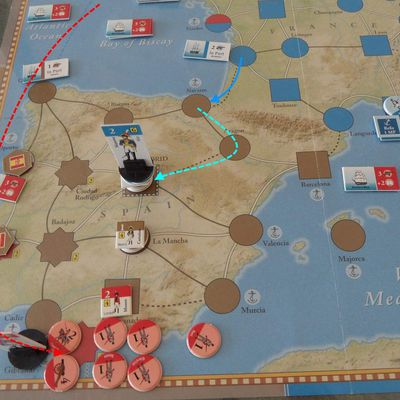 The Napoleonic Wars, suite du tour 3