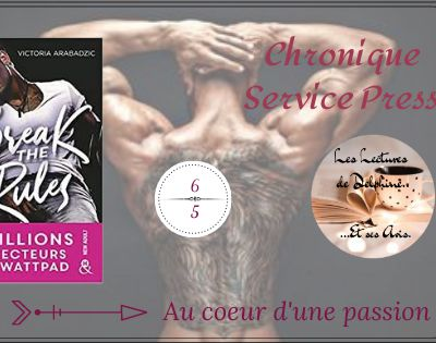 Chronique Delphine : Break The Rules de Victoria Arabadzic chez Harlequin Collection &H