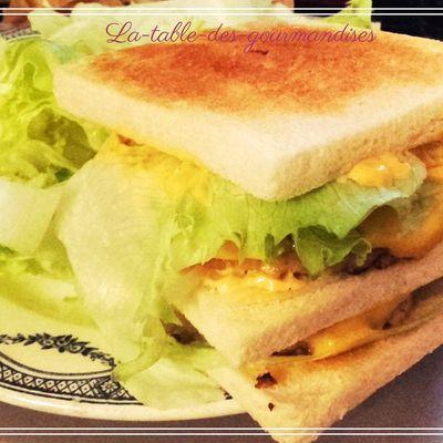 Le croque sandwich