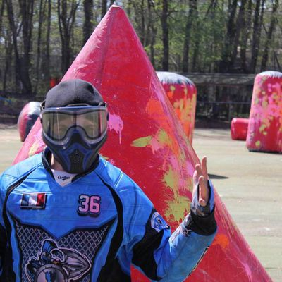 Paintball club sports of Touraine