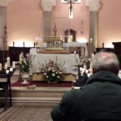 Les Reliques de Sainte Thérèse de l'Enfant Jésus à Cannes (06400)