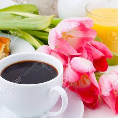 Café printanier