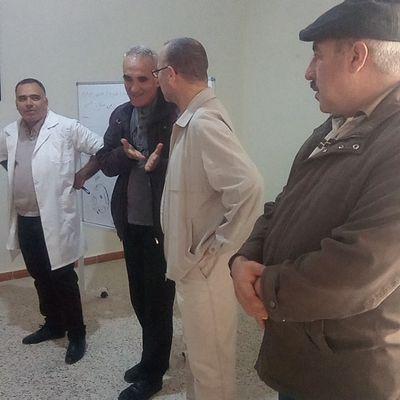 Le Sécrétaire Général de la Commune de Ramdane Djamel en viisite au Centre El Idrissi