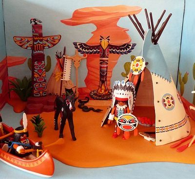 Playmobils : les indiens