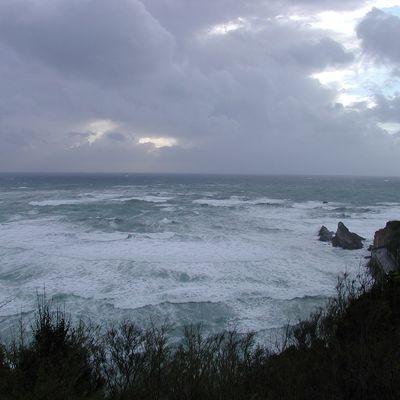 Photo Biarritz côte des basques