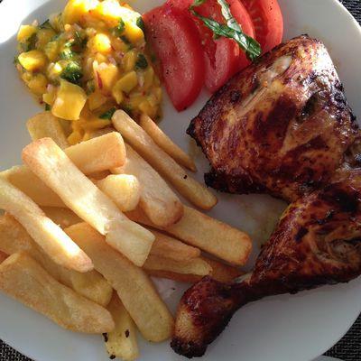 Poulet grillé à la créole (de la Réunion)