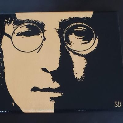 Portait John Lennon