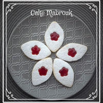 Tartelettes sucre glace et sa fleur de fraise