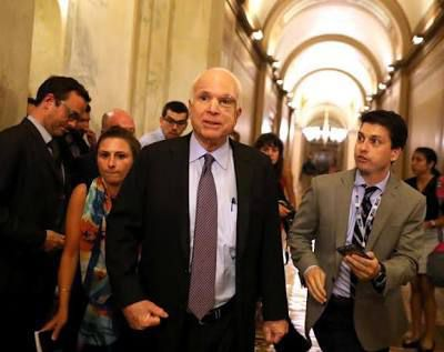 McCain opposes Obamacare repeal bill