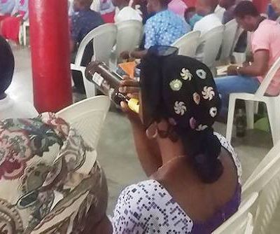 Ogun 'church' where Satan is a 'brother' and worshippers are served alcohol