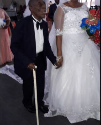 Wow! 87-year-old man weds his much younger bride (more photos)