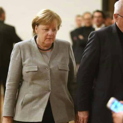 German coalition government in Skepticism