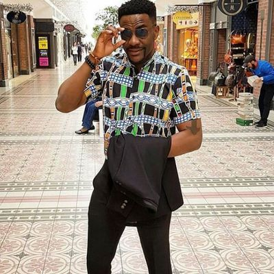 Ebuka continues to slay in South Africa ahead of Banky W's White wedding