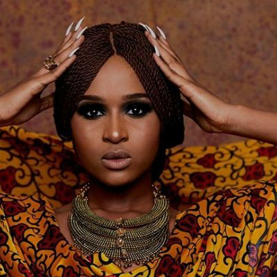 Must see! Hanan Buhari totally kills it in elegant photo moment