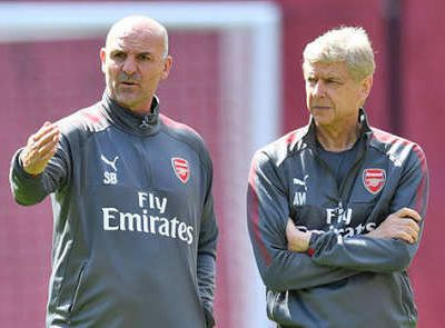 Steve Bould named as one of Arsenal's assistant boss as Unai Emery confirms backroom staff.