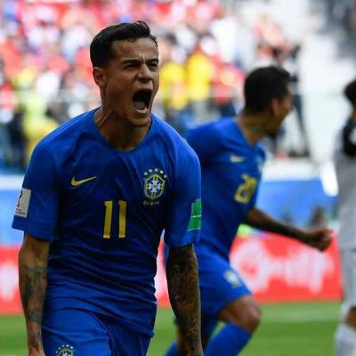 Brazil vs Costa Rica: Two injury time goals gave Brazil the maximum points