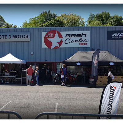 Portes ouvertes chez ACTE3 Moto Metz avec GT acrobatie les images