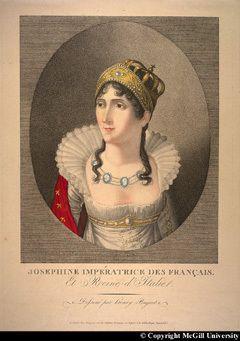 Lettre de Napoléon 1er à Joséphine de Beauharnais