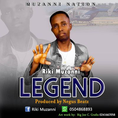 "HIT NEWS::RIKI MUZANNI SET TO RELEASE  ""LEGEND "" ON 20th November 2017.www.gbaagamusic.com"