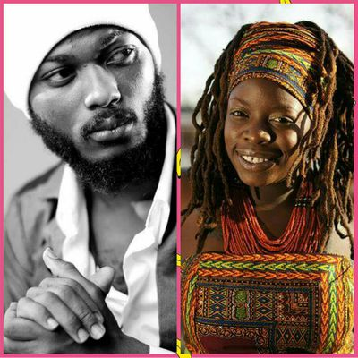 "E-NEWS::IWAN Collaborates With Kenya's and Holland Based Roots Female Artist Black Omolo on a Song Titled ""WE ARE GODS""//www.gbaagamusic.com"