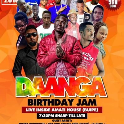 NEWS::DAANGA BirthDay BASH On The 21st Of April, 2018 in Buipe at Amati house//www.gbaagamusic.com