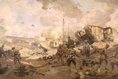 Bataille du canal de Saint-Quentin 1918