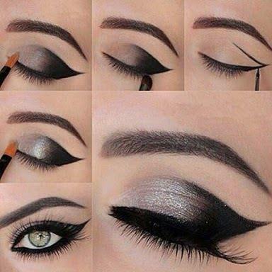 Maquillaje para ojos super facil