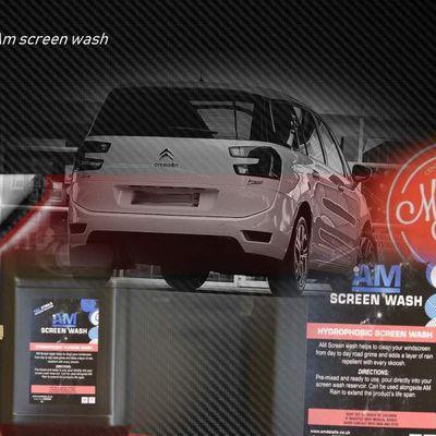 Am details - Am screen wash