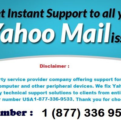Online Yahoo Mail Technical Support Number for Login Issues 1 (877) 336 9533