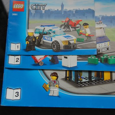 Lego City 3661 City Bank Edition special