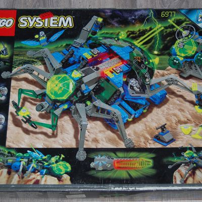 Lego 6977 - Arachnoid Star Base