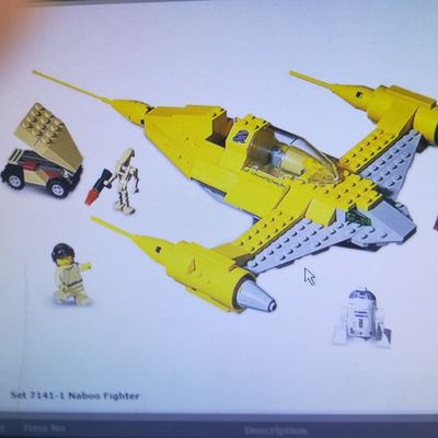 LEGO Star Wars 7141 : Naboo Fighter