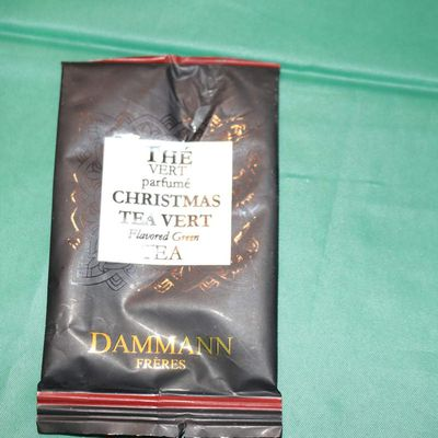 Jour 10 : Thé vert parfumé CHRISTMAS TEA VERT