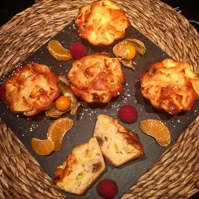 Muffins Pommes et Figues Moelleuses