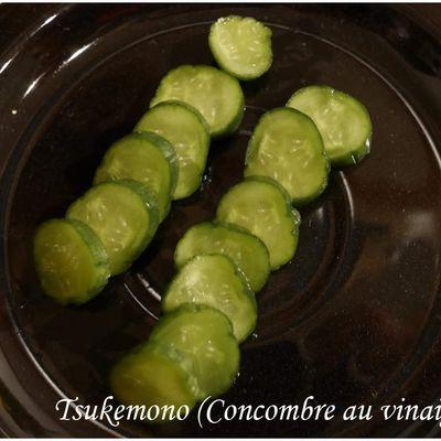 Tsukemono (Concombre au vinaigre) - (Japon)