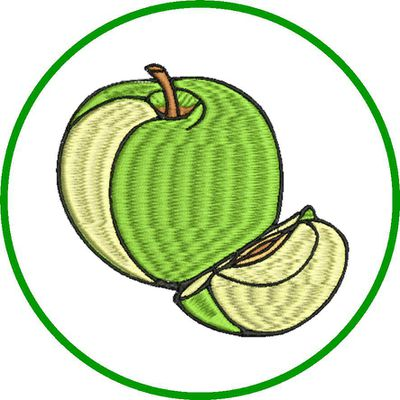 BRODERIE POMME