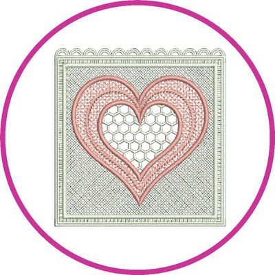 BRODERIE PROMOTION COEUR