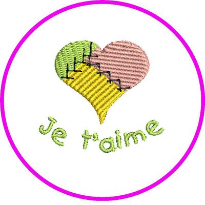 PROMOTION BRODERIE COEUR
