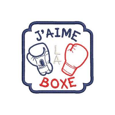 BRODERIE BOXE
