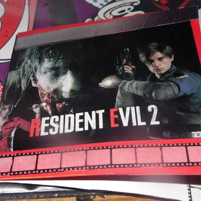 "confection d'une carte ""Résident evil 2"""