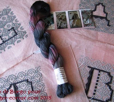 Tutoriel: préparer son écheveau - Tutorial: how to prepare its skein.