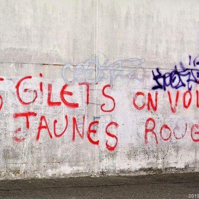 GILETS JAUNES EN COLERE