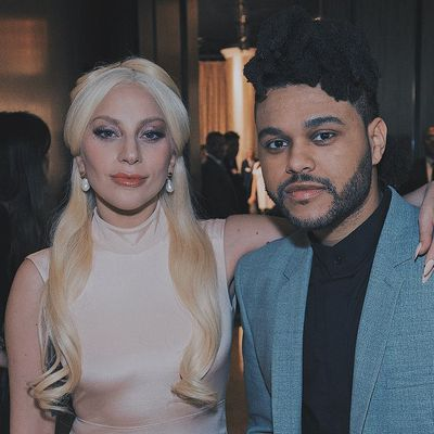 Lady Gaga et The weeknd✌✌❤