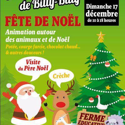 Noël à la ferme pédagogique de Billy-Billy de l'Isle