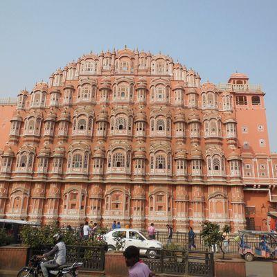 Jaipur, capitale du Rajastan.