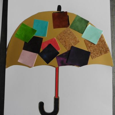 Parapluie (collage)