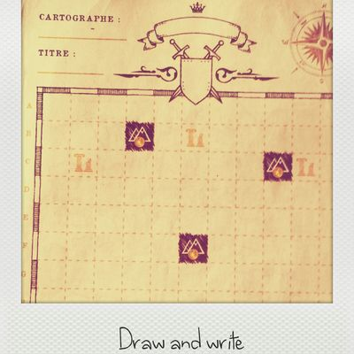 CARTOGRAPH3RS :  the Draw and Write*