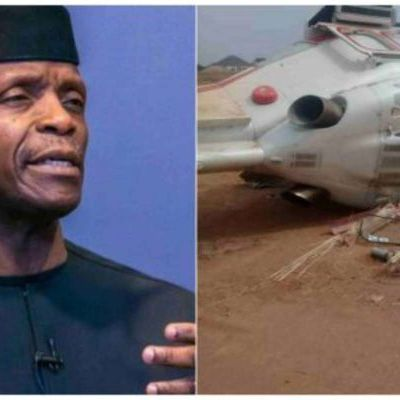 Osinbajo Helicopter Crash: Reason for crash revealed